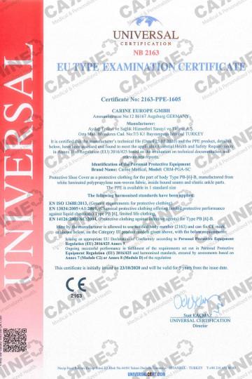 CARINE PROTECTIVE SHOE COVERS CRM PGA SC