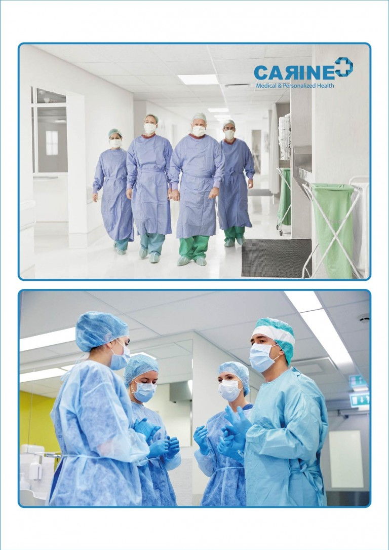 DISPOSABLE SURGICAL GOWN-01