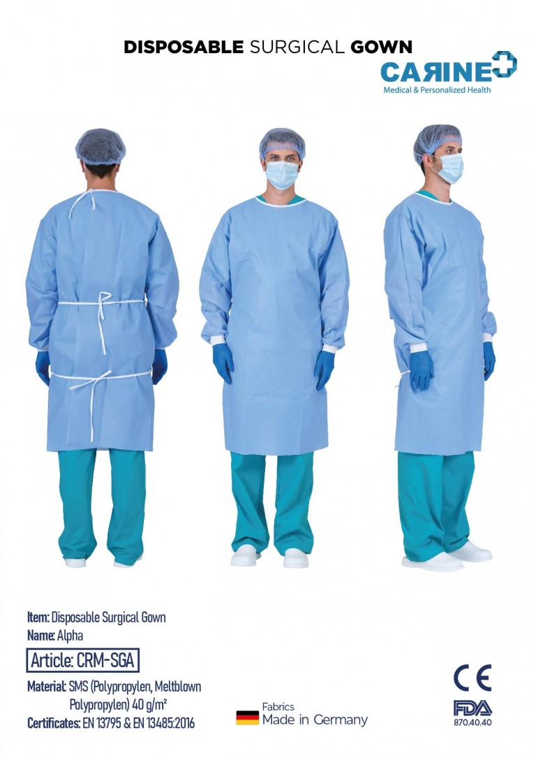 DISPOSABLE SURGICAL GOWN-03