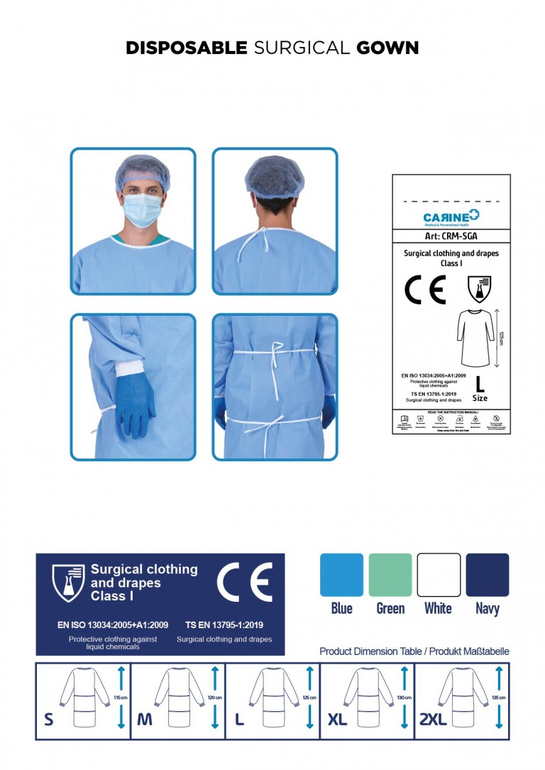 DISPOSABLE SURGICAL GOWN-04