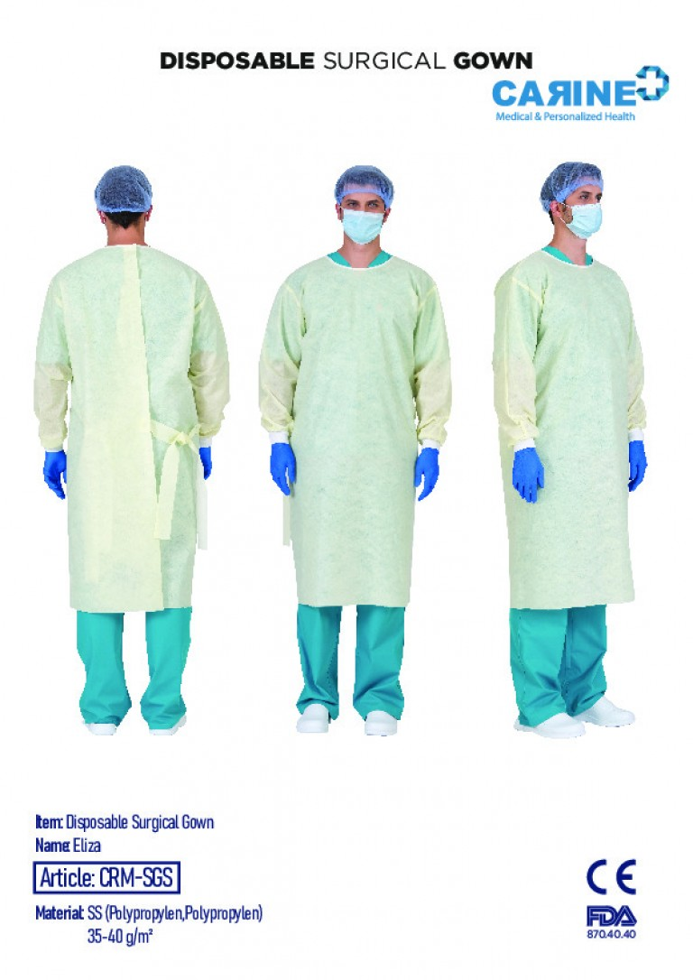 DISPOSABLE SURGICAL GOWN-6