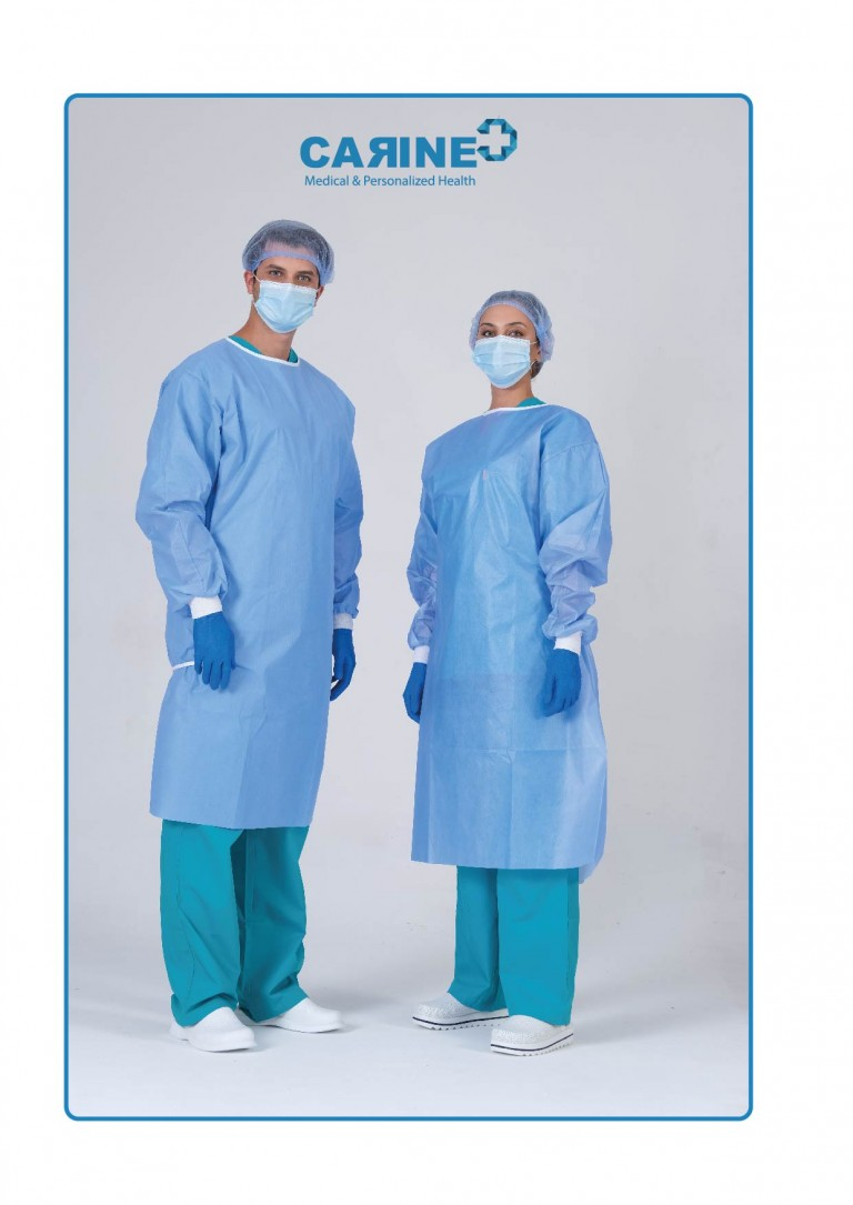 DISPOSABLE SURGICAL GOWN-02