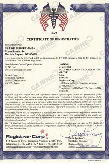 Certificate D407795