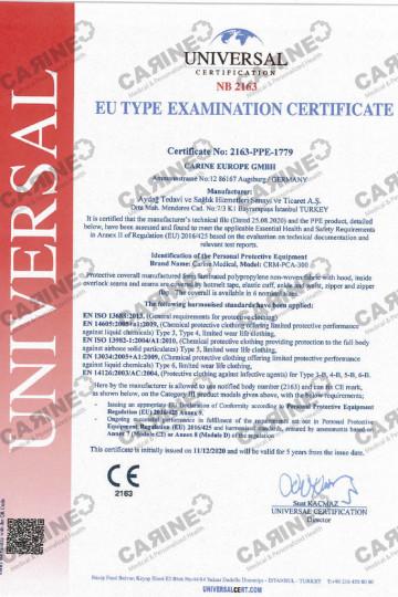 CARINE Type 3-4-5-6 PCA-300 EU Type Ex1024_1
