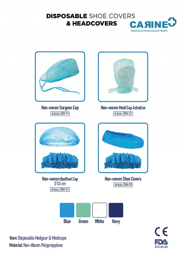 DISPOSABLE PROTECTIVE SHOE COVERS & HEADCOVERS-03