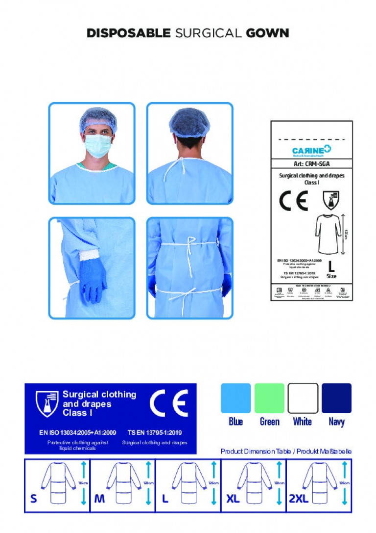 DISPOSABLE SURGICAL GOWN-4