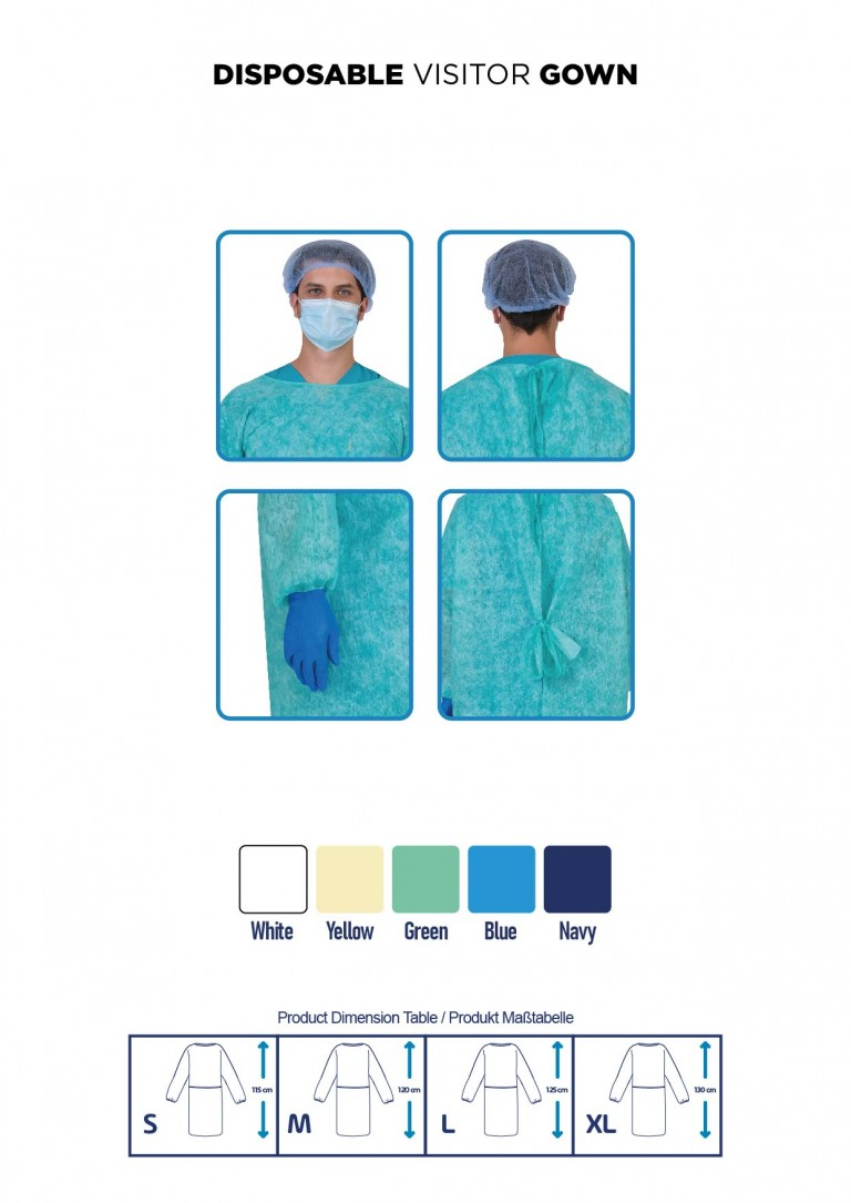 DISPOSABLE SURGICAL GOWN MIRA-03