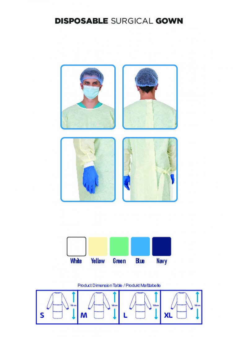 DISPOSABLE SURGICAL GOWN-7