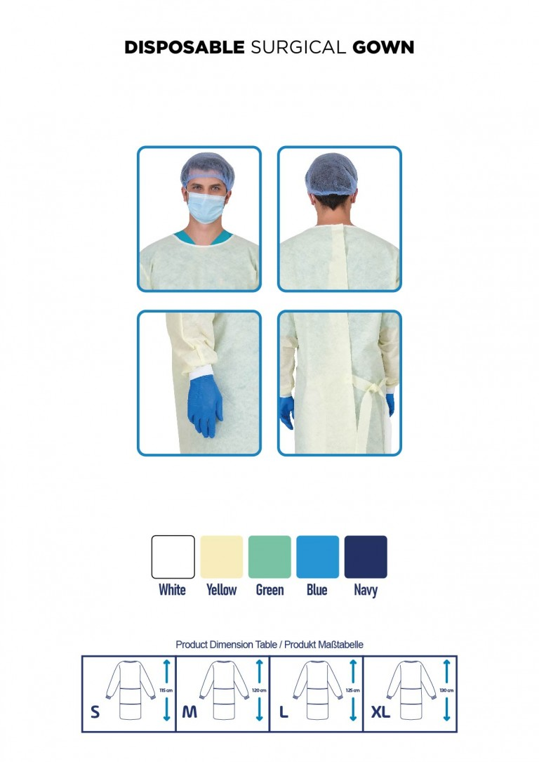 DISPOSABLE SURGICAL GOWN-07
