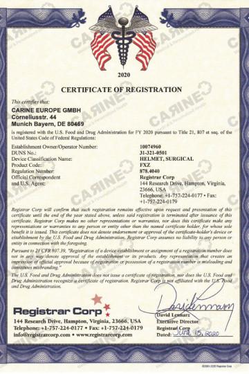 Certificate D407797