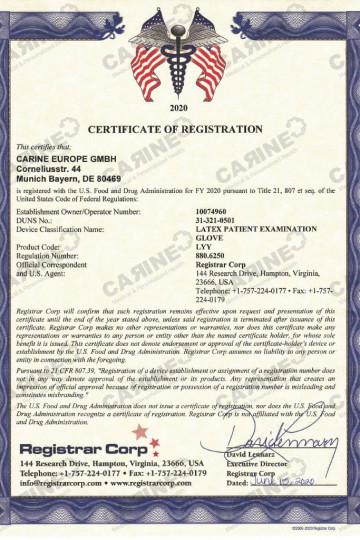 Certificate D407792