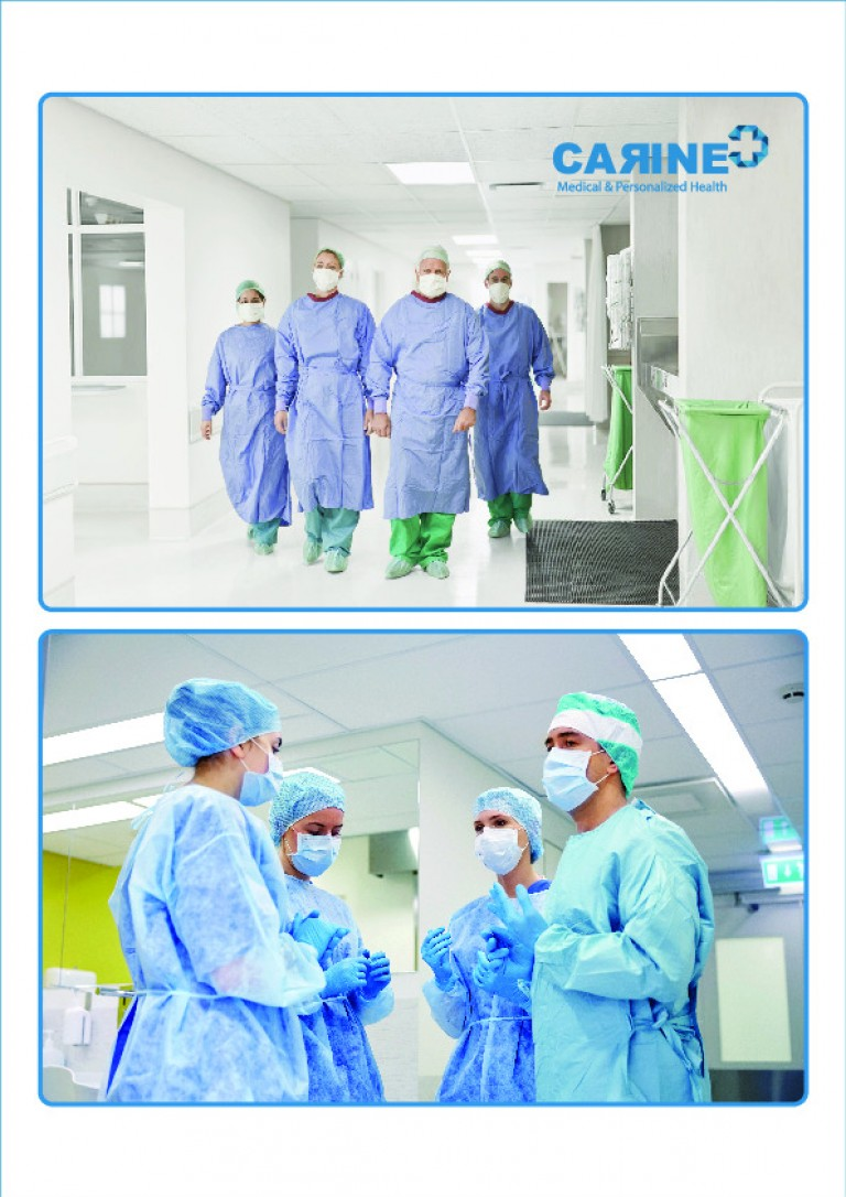 DISPOSABLE SURGICAL GOWN-1