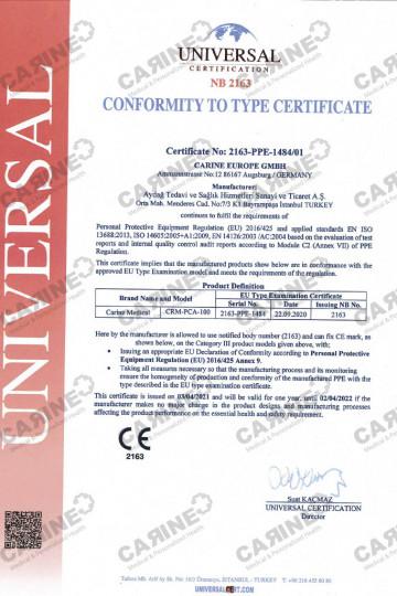CARINE CRM-PCA-100 Type 3-4 C21024_1