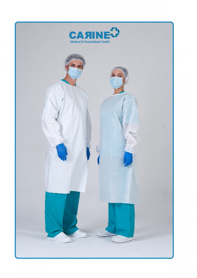 DISPOSABLE ISOLATION GOWN TYPE PB 6-B-01