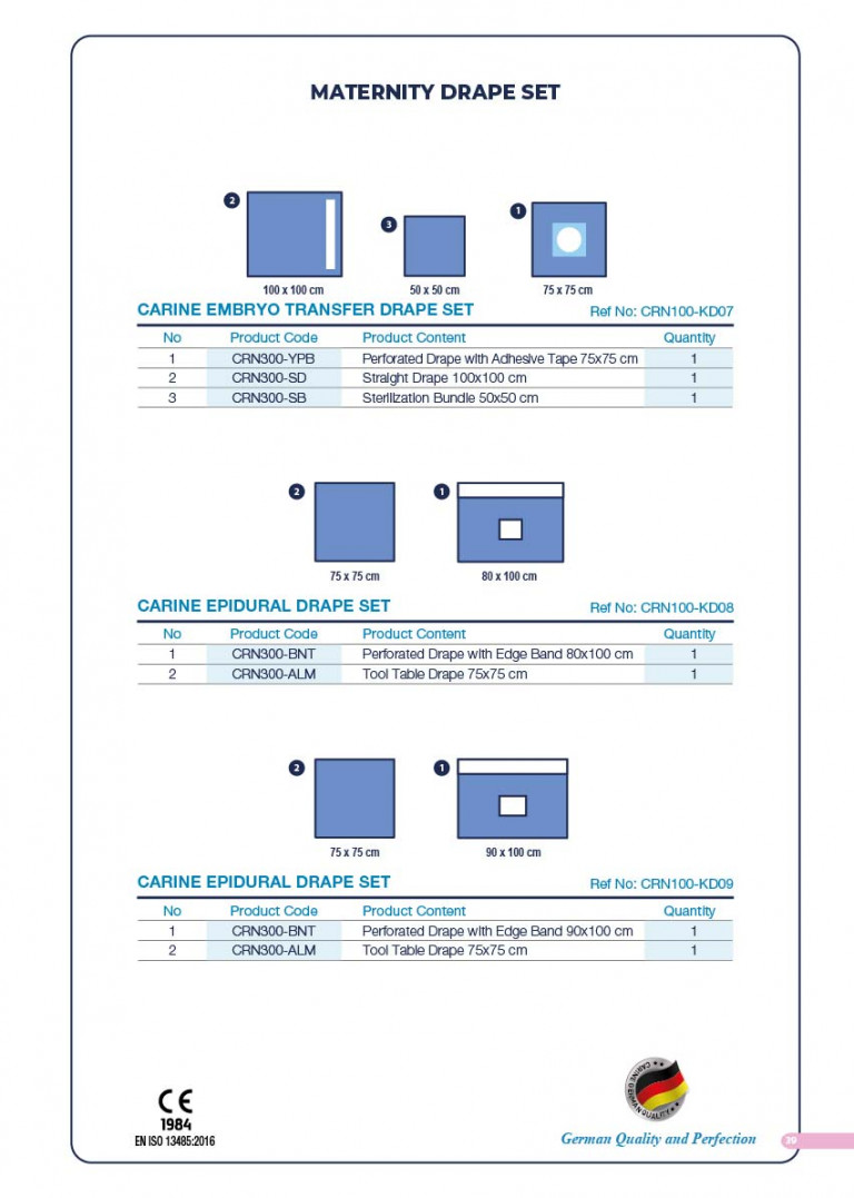 CARINE - STERILE SURGICAL PACK SYSTEMS CATALOGUE-41