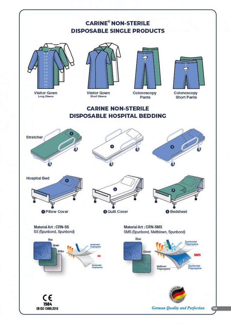 CARINE - STERILE SURGICAL PACK SYSTEMS CATALOGUE-141