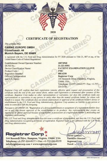 Certificate D407793