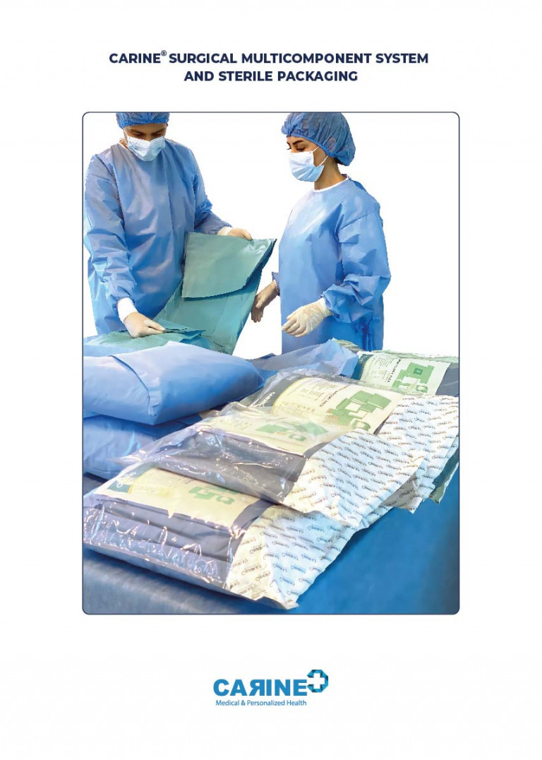 CARINE - STERILE SURGICAL PACK SYSTEMS CATALOGUE-117