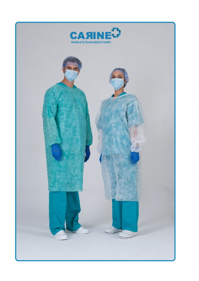 DISPOSABLE ISOLATION GOWN TYPE PB 6-B-07