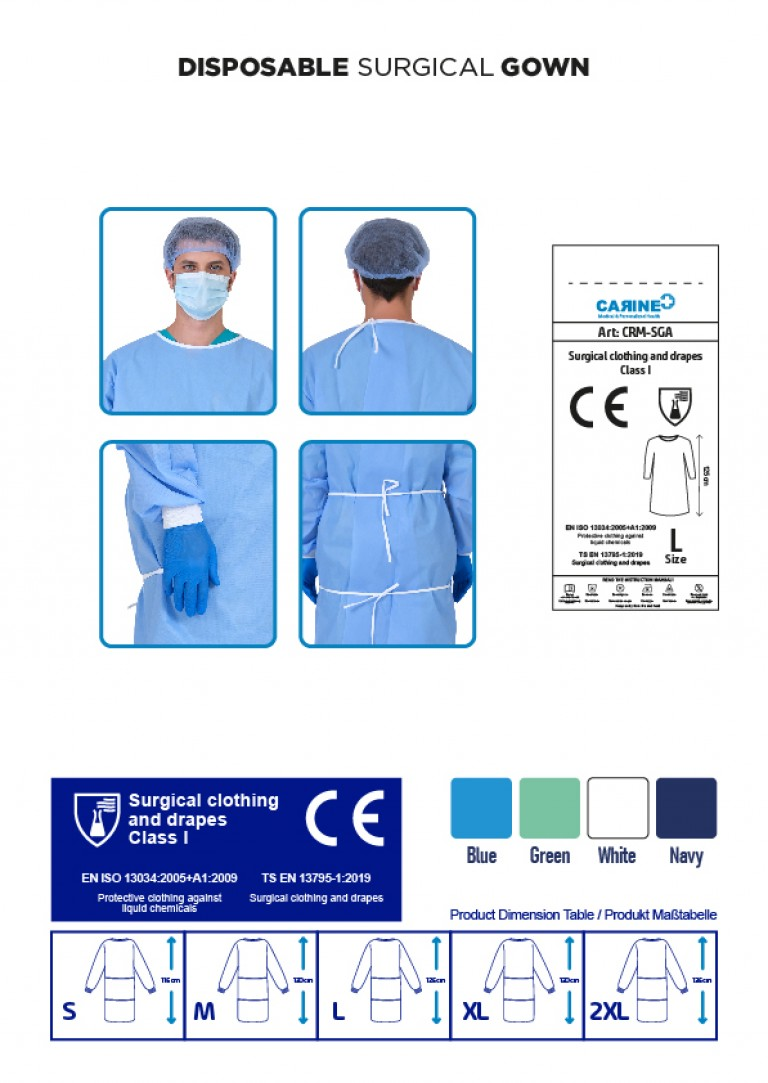 DISPOSABLE SURGICAL GOWN ALPHA-03