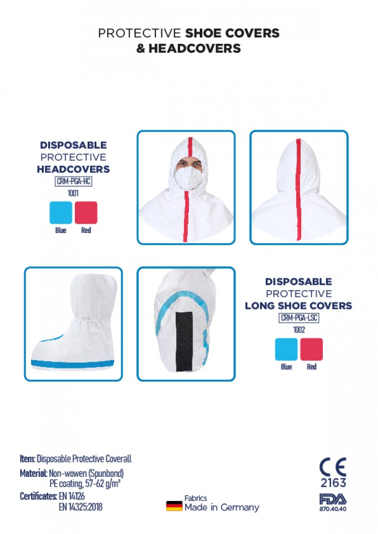 DISPOSABLE PROTECTIVE SHOE COVERS & HEADCOVERS-01
