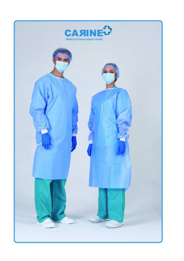 DISPOSABLE SURGICAL GOWN-2